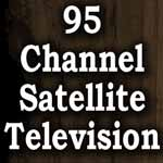 95 channel satelite tv